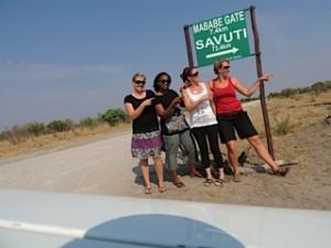Selfdrive through Savuti