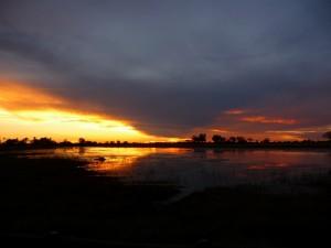 Eagle Island Camp - sunset (December)