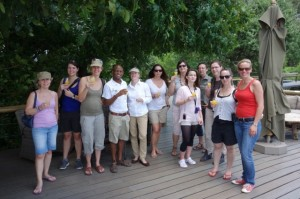 On site inspection at Chobe Game Lodge