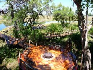 Jao Camp in the Okavango Delta