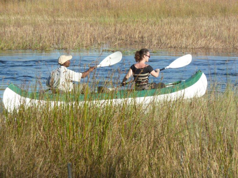 Canoeing the Selinda Spillway
