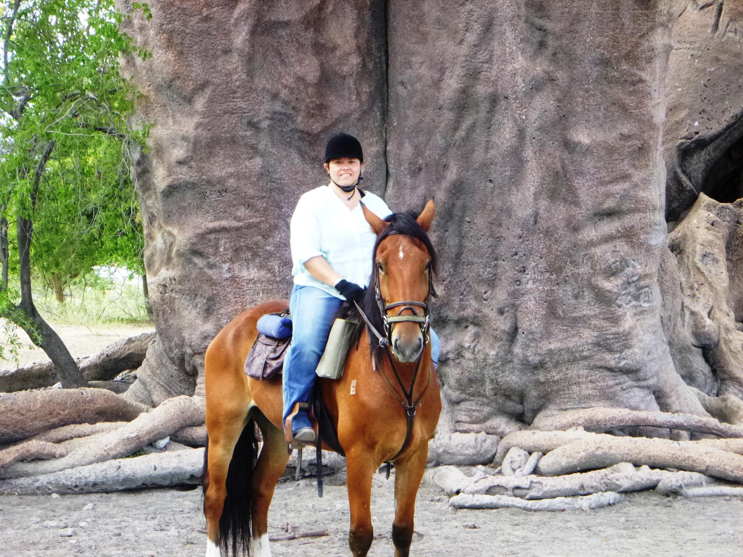 Roxanne Horseback